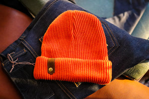 Davis Beanie - Hunter Orange
