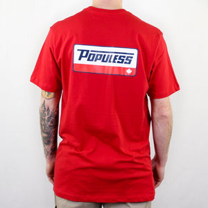 The Turbo Tee - Red - The Populess Company