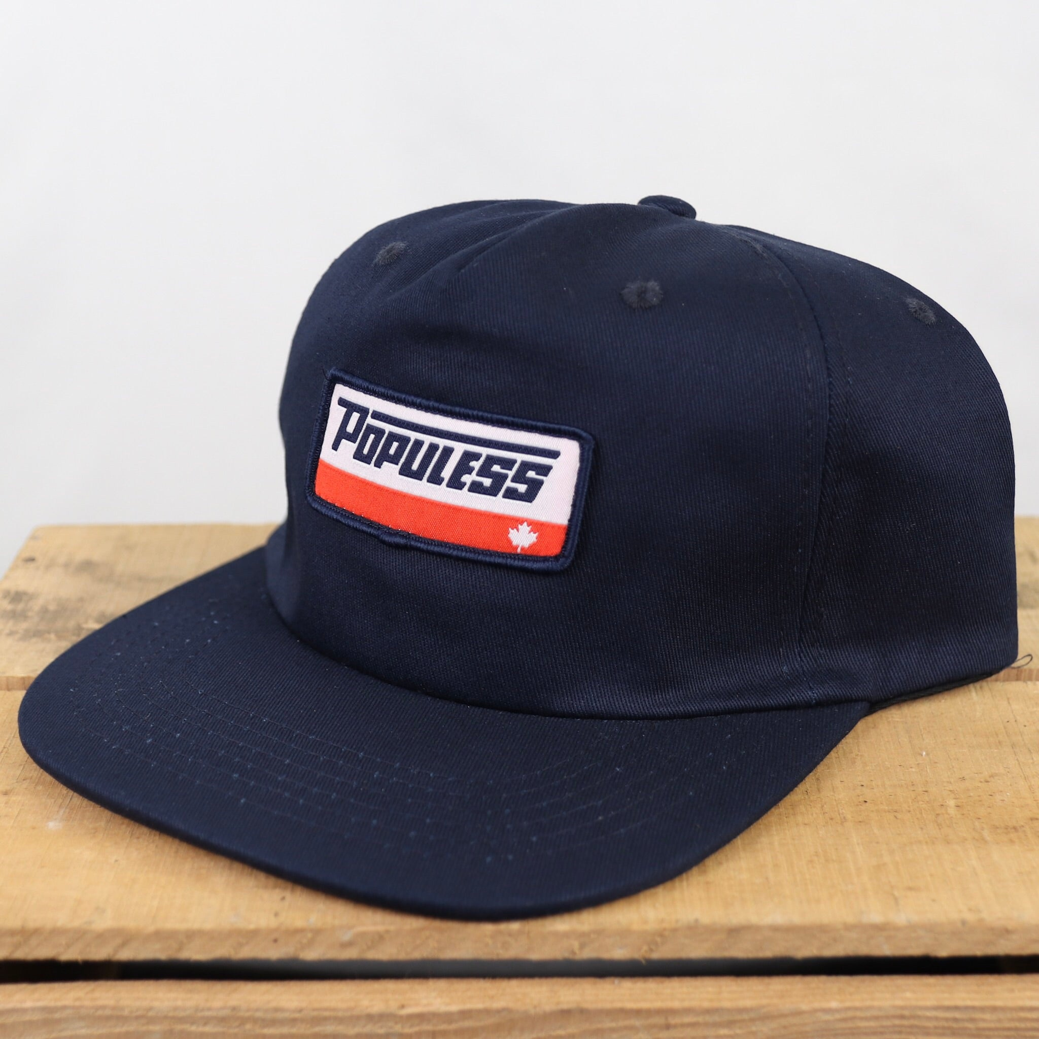 The Turbo Hat - Navy - The Populess Company