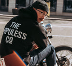 The Populess Co. - Stencil Hoody - Black