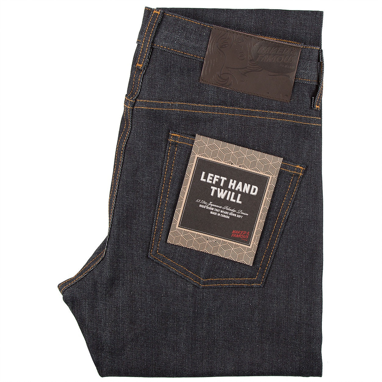 N&F - Left Hand Twill Selvedge - The Populess Company