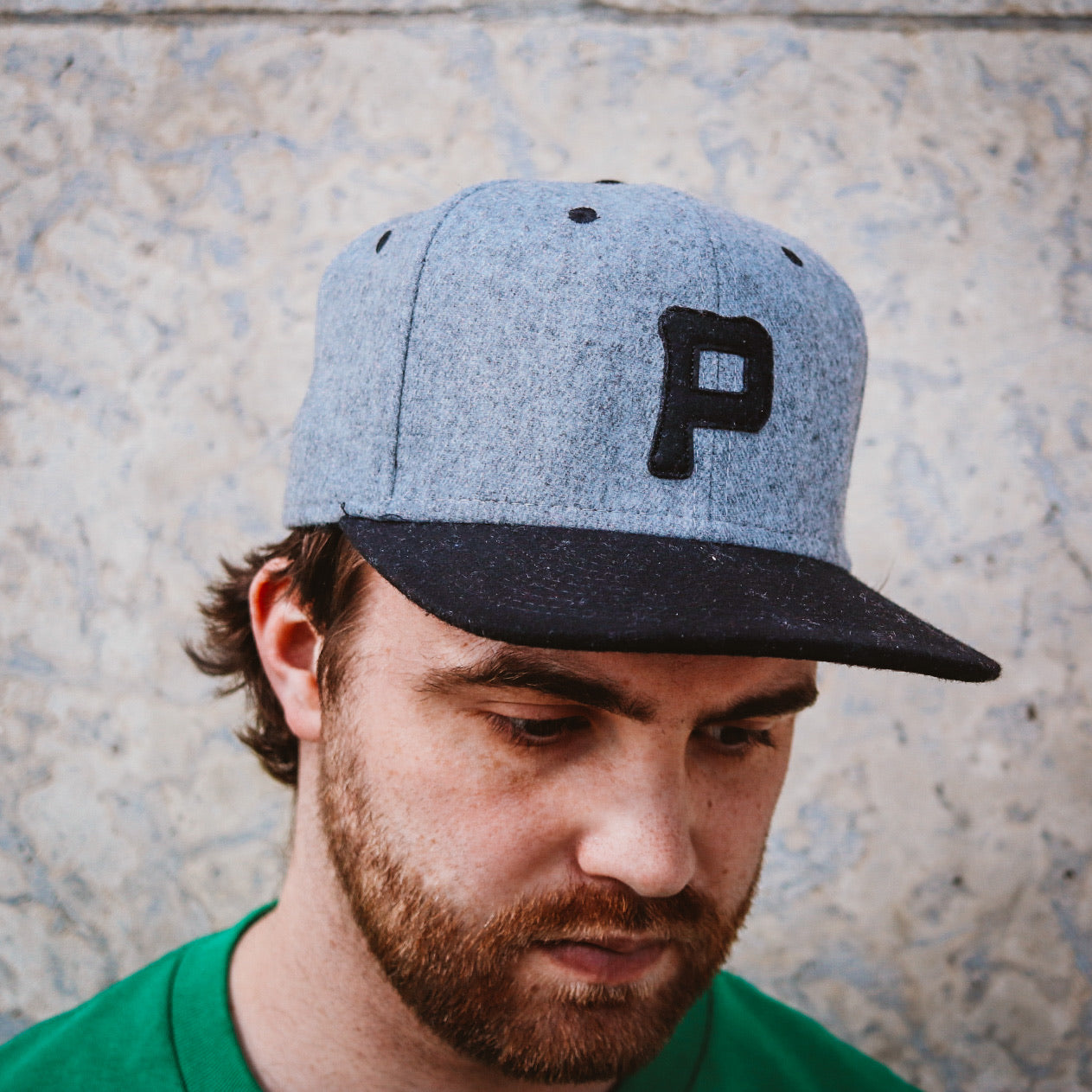 The Populess Co. - Rising Plains Cap - Heather Grey Heritage Flannel