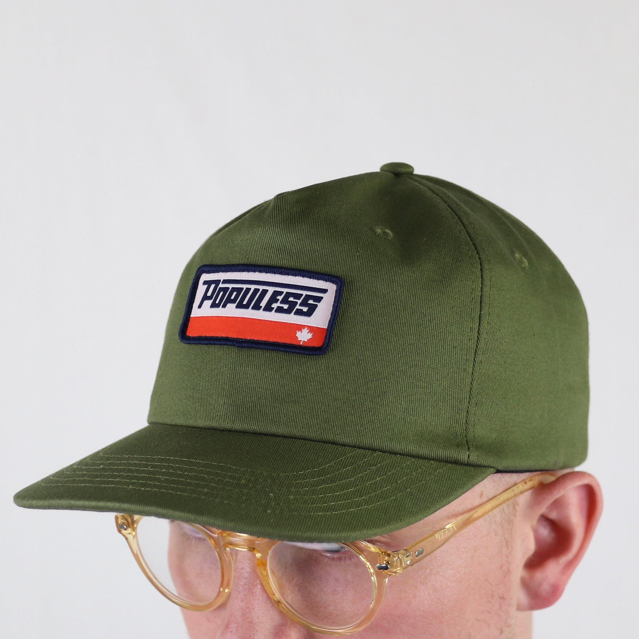 The Turbo Hat - Army - The Populess Company