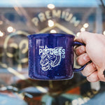 Scout Mug - Prairie Dogs Never Die - Midnight Blue