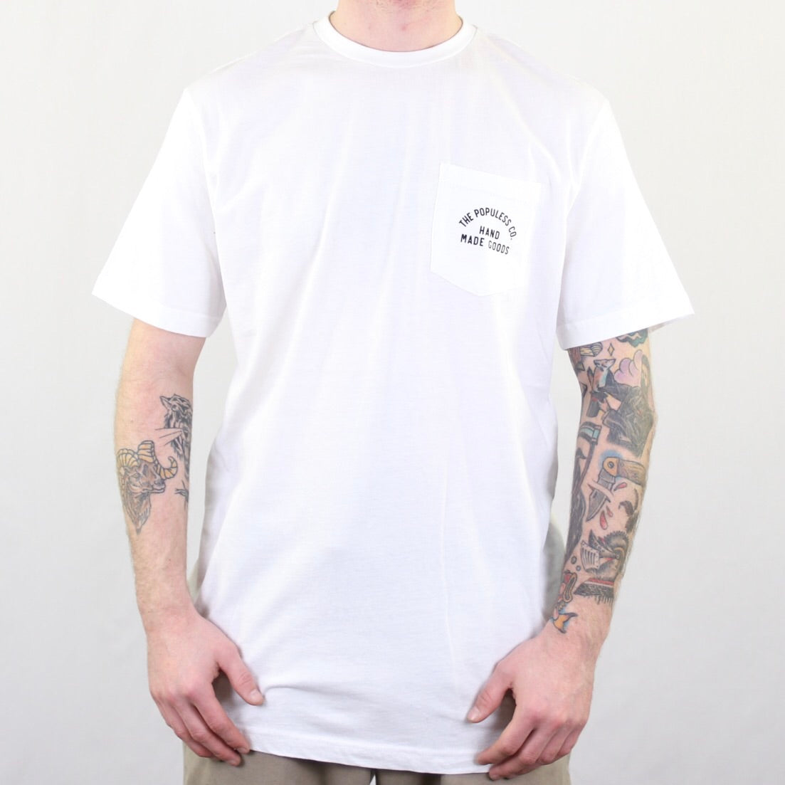 Lock Up Pocket Tee - Proud - The Populess Company