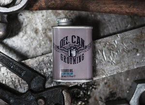 OIL CAN GROOMING - BLUE COLLAR BEARD OIL - 50ML
