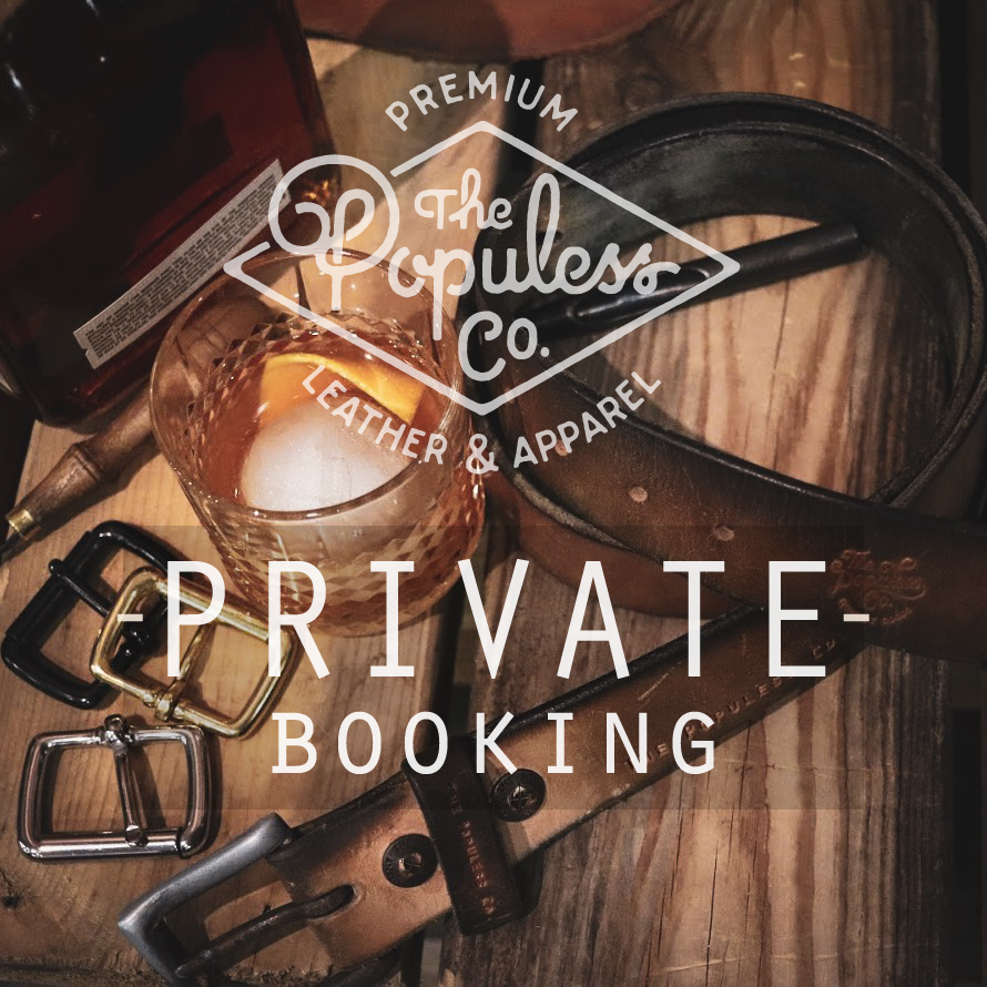 Belts & Bourbon Private Booking - The Populess Company