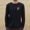 King L/S Tee - Black - The Populess Company