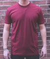 Script Tee - Cardinal - The Populess Company