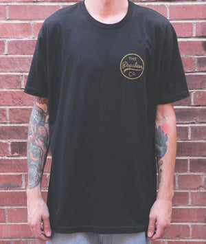Coulee Rattler Tee - Black - The Populess Company