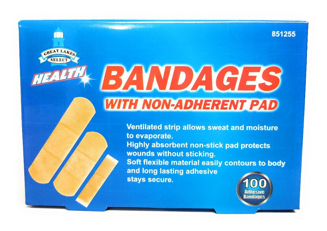 Self Adhesive Bandages 100 Pack