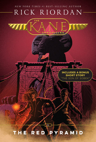 The Kane Chronicles, Book One The Red Pyramid (new cover)