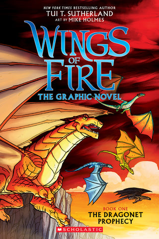 A Wings of Fire Graphic Novel #1: The Dragonet Prophecy