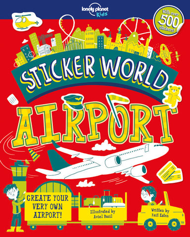 Lonely Planet Sticker World - Airport 1st Ed.