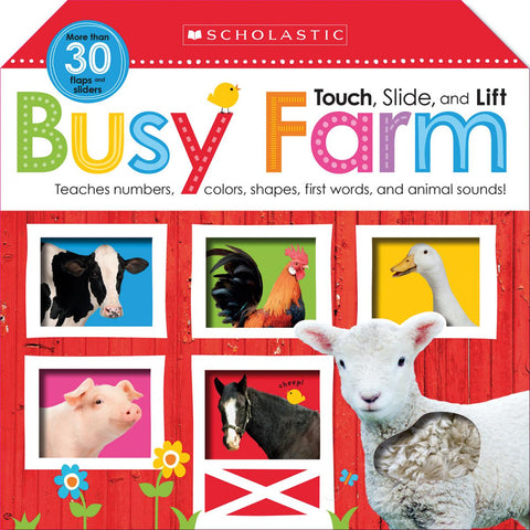 Busy Farm: Scholastic Early Learners (Touch, Slide, and Lift)