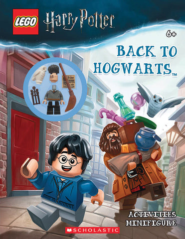 Lego Harry Potter: Activity Book with Minifigure: Back to Hogwarts