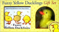 Fuzzy Yellow Ducklings Gift Set