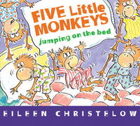 Five Little Monkeys Jumping on the Bed (board book)