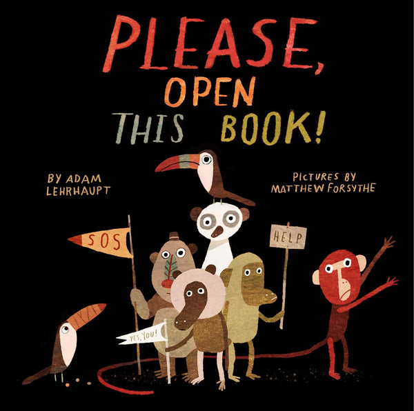 Please, Open This Book!