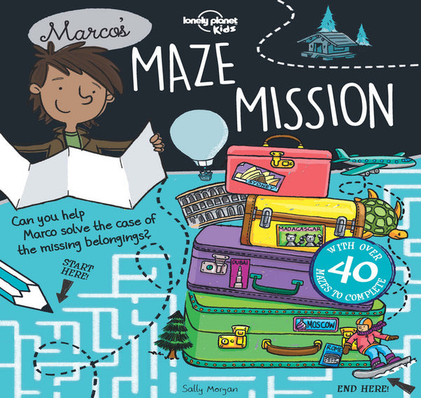 Lonely Planet Marco's Maze Mission 1st Ed.