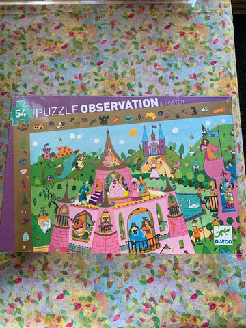 Observation Puzzle- Princesses