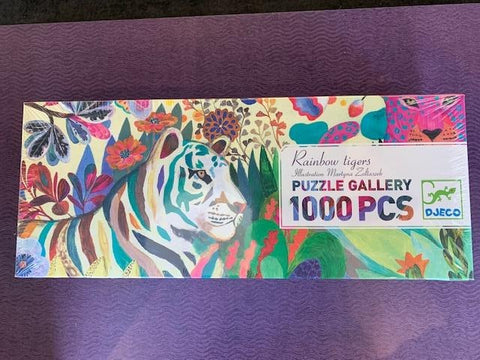 Gallery Puzzle- Rainbow Tigers
