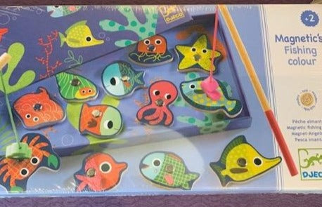 Magnetic Fishing Game- Colour