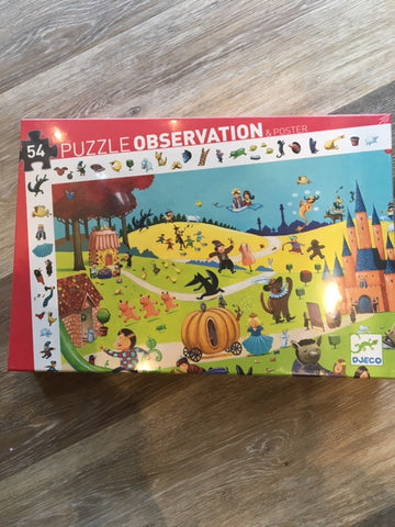 Observation Puzzle- Tales