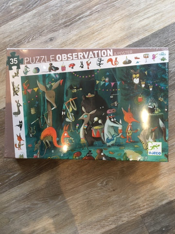 Observation Puzzle- The Orchestra