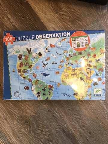 Puzzle Observation- World's Animals
