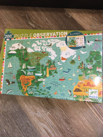 Observation Puzzle- Around the World