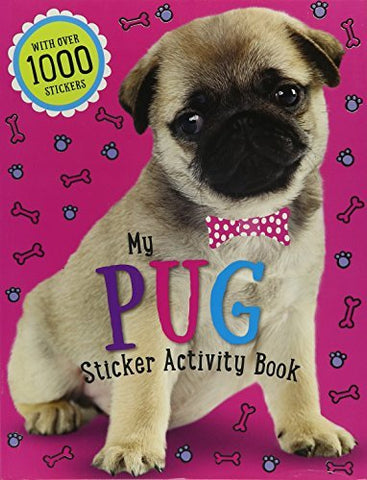 My Pug Sticker Activity Book