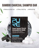 Shampoing Solide anti cheveux blancs