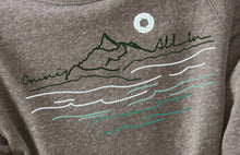 "Load image into Gallery viewer, Kids ""All In"" Mountain Sweatshirt"