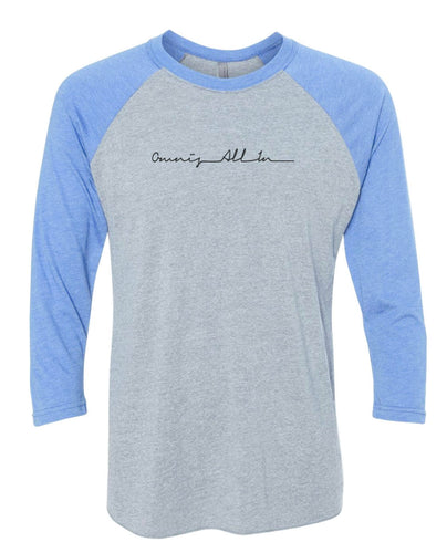 Omnis All In Heartbeat Baseball T-Shirt