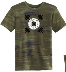 Omnis Barbell Camo T-Shirt