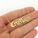 Personalized Custom Name Chain  Necklaces - Creative Minds Jewels