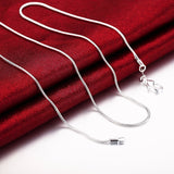 Silver Color Snake Chain - Creative Minds Jewels