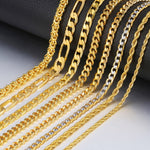 Figaro Rope Cuban Link Chain - Creative Minds Jewels