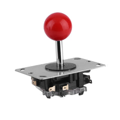 4/8 vías ajustable Joystick Arcade Joystick DIY Joystick Fighting Stick Parts para el juego Video Arcade muy robusto rojo