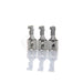 H4 adaptador Ceramic socket 10 sets impermeable 7.8mm HB2 conector hembra coche auto HID Xenon H4 bulbo socket PLUG para bmw ford