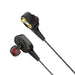 IPUDIS HiFi Cable auricular Dual-Dynamic Quad-core altavoz 3,5mm in-ear auriculares con micrófono Cable Flexible