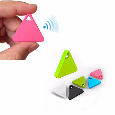 Caliente mini Bluetooth Tracker localizador GPS anti-lost tag alarma GPS para coche animales Niño 3 colores C45