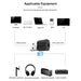 USB Bluetooth de Audio del transmisor Bluetooth adaptador Tv transmisor de Audio X1 transmisor Bluetooth Dropship 8,15