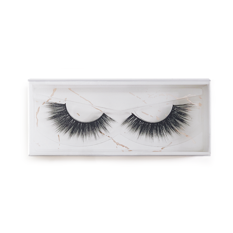 Envie 3d faux mink false lashes voila box