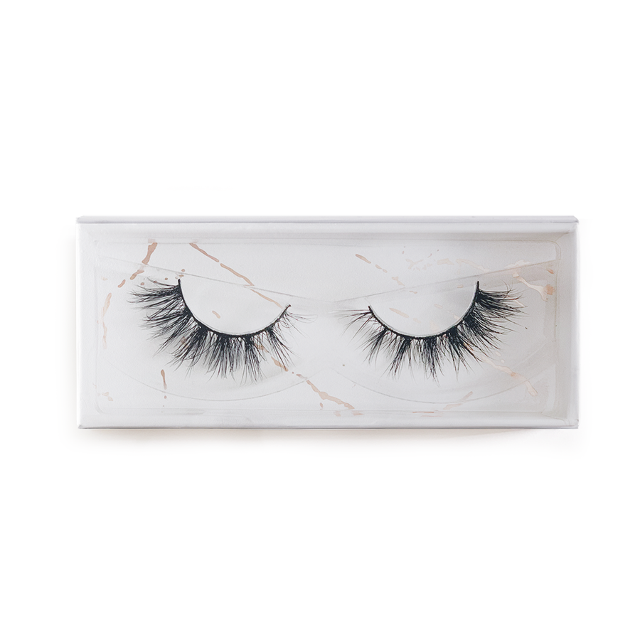 Envie 3d mink false lashes goddess box