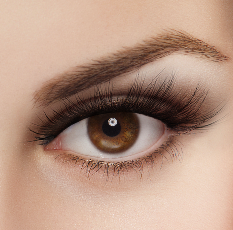 Envie 3d mink false lashes glamour natural