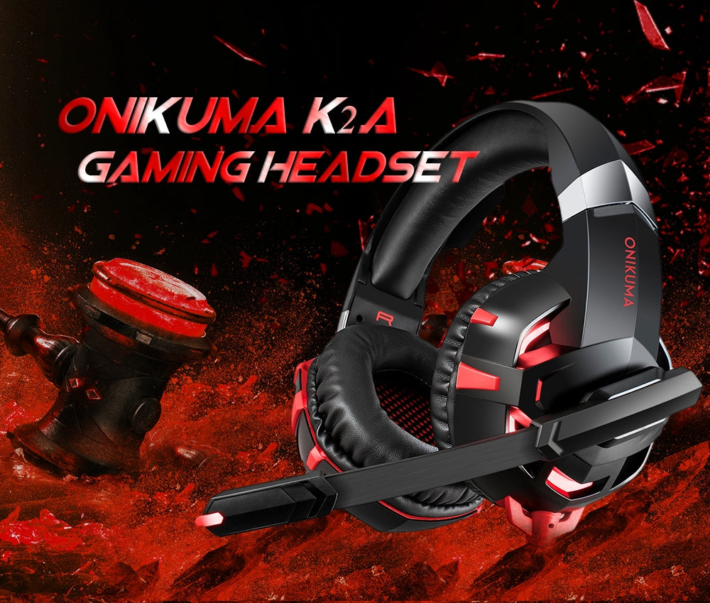 Onikuma K2 Pro Wired Stereo Gaming Headset for PC, PS4