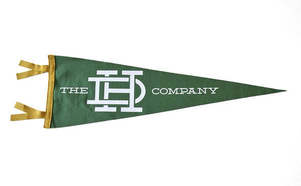 Green & Gold Pennant