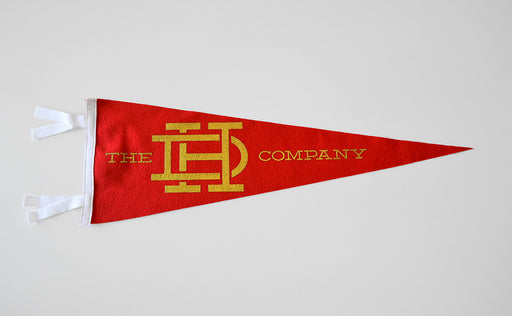 Red & Gold Pennant